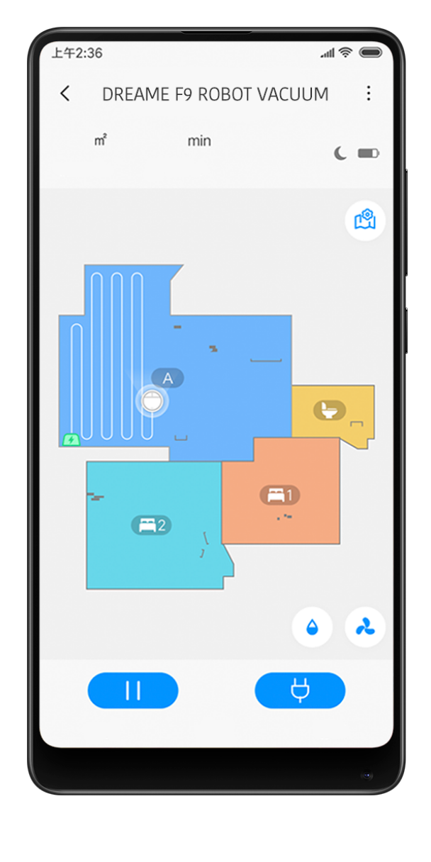 Dreame D9 support APP remote control
