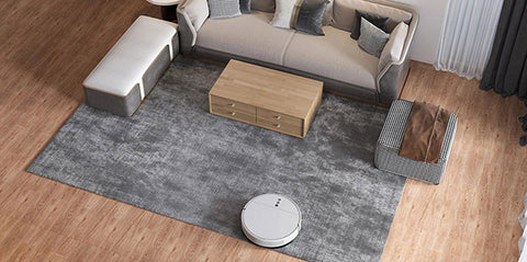 robot vacuum for wood floor and carpet