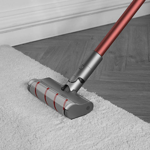 vacuum your thick carpet with dreame v11