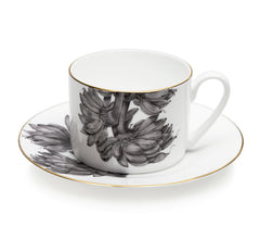 Palm cup & saucer