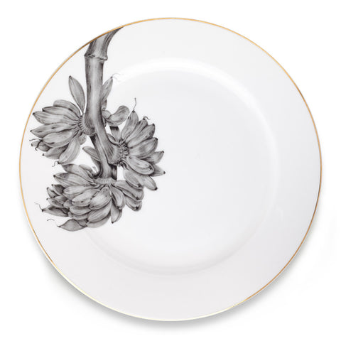 Banana Plant Exotic Side Plate