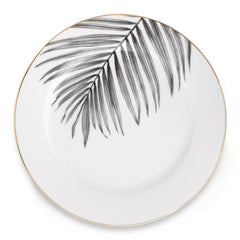 Under the palm side plate
