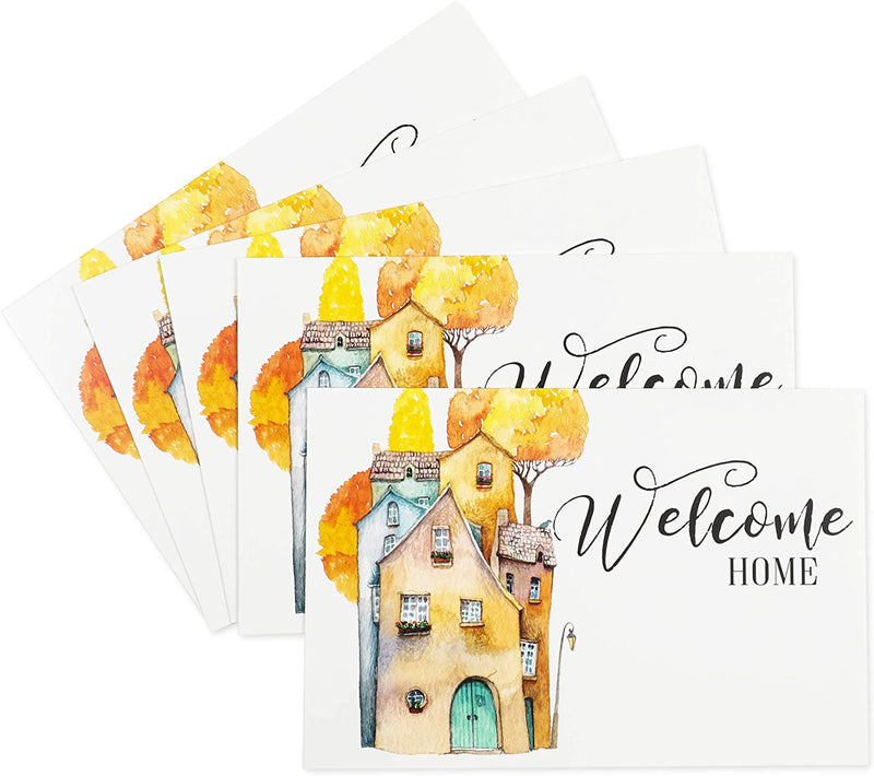Welcome Home Real Estate Cards, Realtor Greeting Cards (4 x 6 In, 48 Pack)