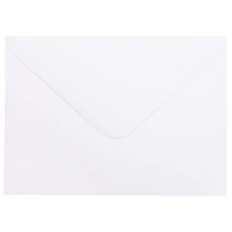 "100-Pack Embossed Border Blank Cardstock with Envelopes for Invitations, 5"" x 7"""