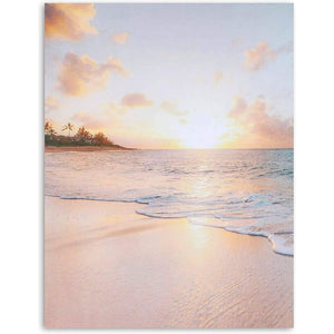 96-Sheet Sunset Beach Stationery Paper for Invitations, Letter Size, 8.5x11""