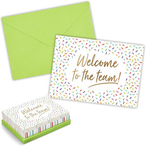 Blank Greeting Cards and Envelopes, Welcome To The Team (7 x