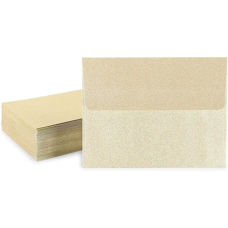 A2 Invitation Envelopes (Gold, 4.25 x 5.5 in.)