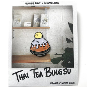 Thai Tea Bingsu Pin