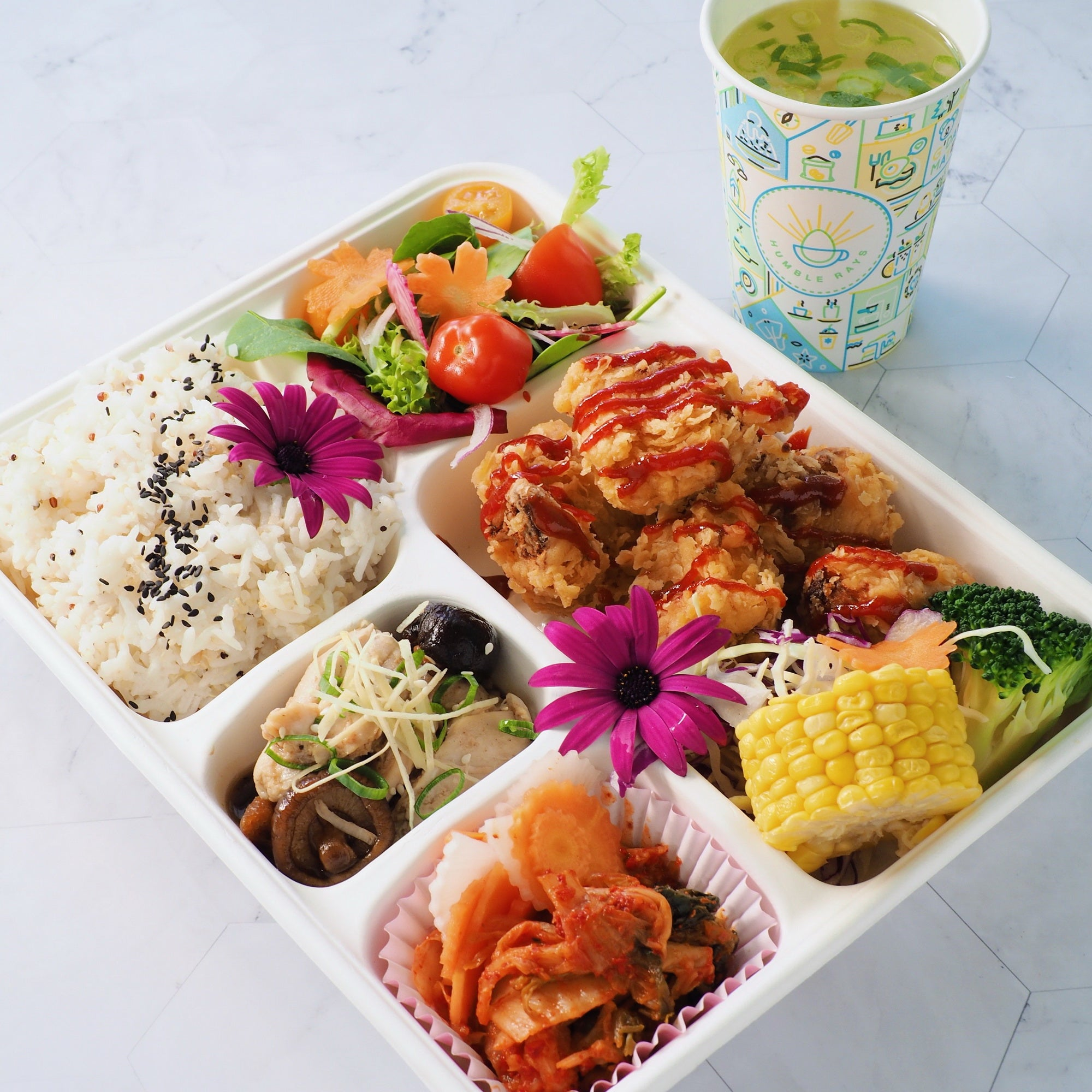 CHICKEN HOT SAUCE BENTO