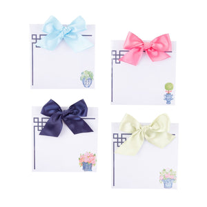 Top view of our Southern Blooms Bow Notepads