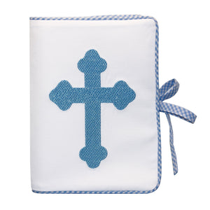 Front view of our Blue Christening Photo Album
