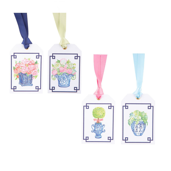 Front view of our Southern Blooms Gift Tags
