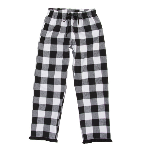 Front view of our Buffalo Check Lounge Pants