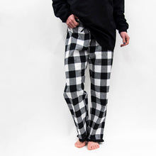 Load image into Gallery viewer, Front view of our Buffalo Check Lounge Pants
