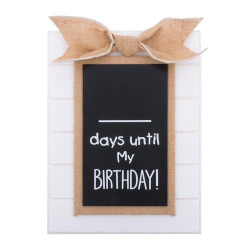Birthday Countdown Baby Chalkboard