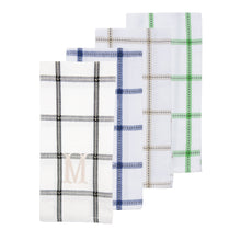Load image into Gallery viewer, Monogrammed view of our Block Dish Towels