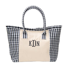Load image into Gallery viewer, Gingham Tote Bag