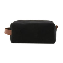 Load image into Gallery viewer, Front view of our Black Kentucky Dopp Kit
