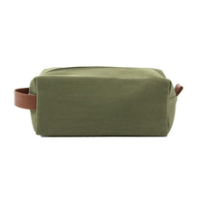 Load image into Gallery viewer, Front view of our Forest Kentucky Dopp Kit