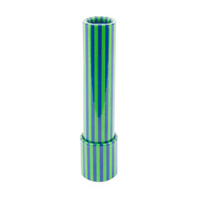 Front view of our Navy Stripe Kaleidoscope