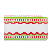 Load image into Gallery viewer, Front view of our Dotted Stripe Pattern Mailbox Cover
