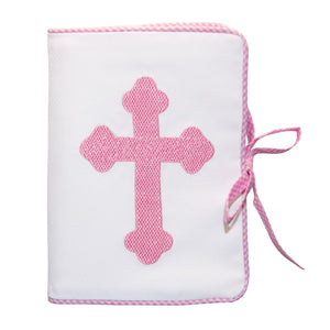 Front view of our Pink Christening Photo Album
