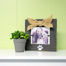 Load image into Gallery viewer, Lifestyle vie of our Black Pet Bow Frame