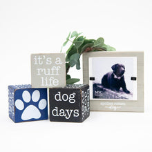 Load image into Gallery viewer, Lifestyle view of our Pet Wooden Cubes