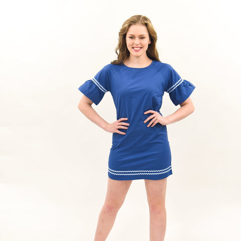 Lifestyle image of our Ric Rac Dress