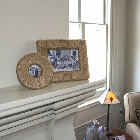 Round and rectangle picture frames