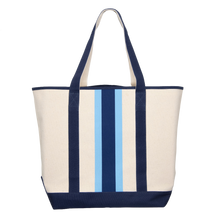 Load image into Gallery viewer, Canvas Ribbon Boat Bag