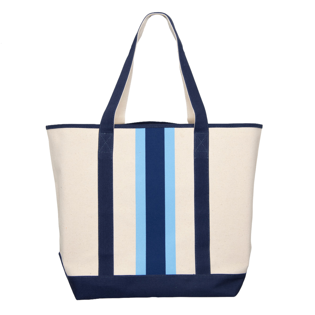 Canvas Ribbon Boat Bag