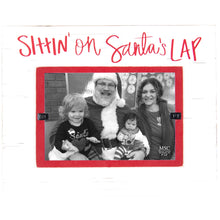 Load image into Gallery viewer, Sittin on Santa's Lap Frame
