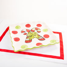 Holiday Icon Square Platter