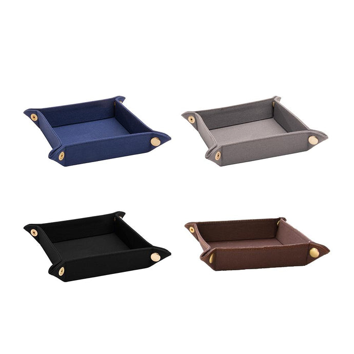 Canvas valet tray colors