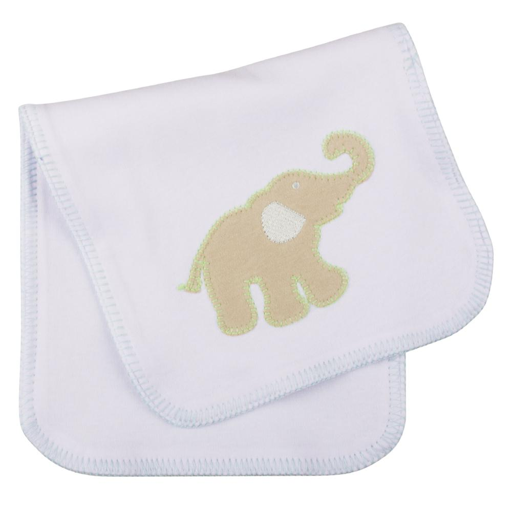 Elephant Stitch Burp Cloth