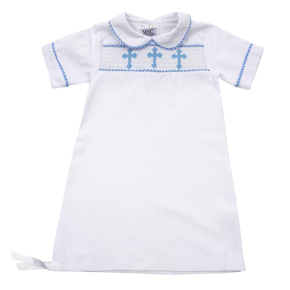 Christening Boy Day Gown 0-6 Months
