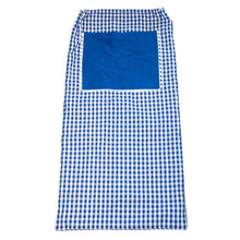 Load image into Gallery viewer, Blue Gingham Laundry Bag