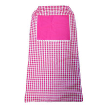 Load image into Gallery viewer, Pink Gingham Laundry Bag