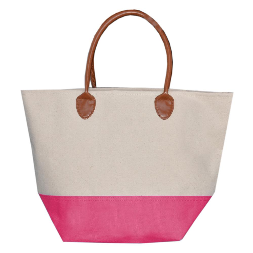 Pink Daycation Tote