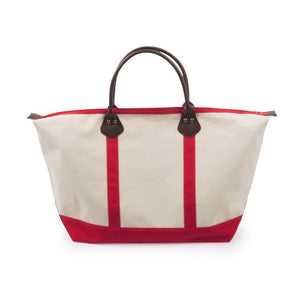 red jet setter duffle