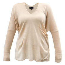 Load image into Gallery viewer, Taupe pocket sweater