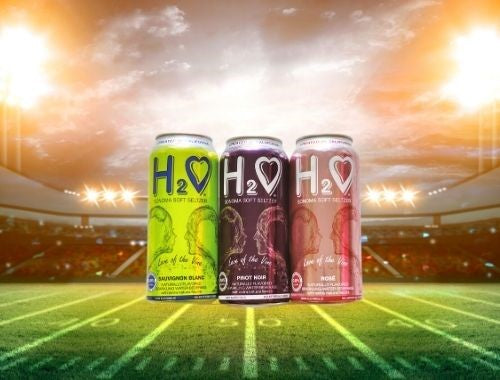Healthy Super Bowl Snacks to Pair with H2O 0.0% ALC Soft Seltzer Wine