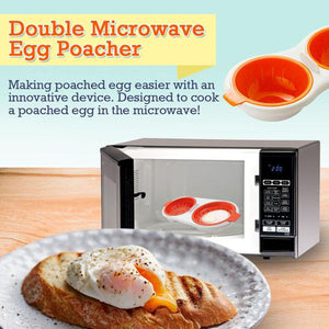 Perfect Double Egg Poacher