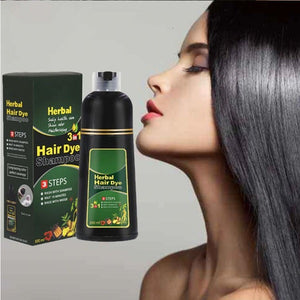 3-in-1 Herbal Hair Coloring Shampoo