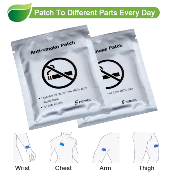 QuitTex™ - Natural Anti-Smoking Patches (Box of 35)
