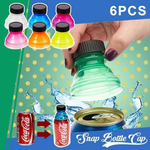 Soda Saver Snap Bottle Caps (Pack of 6)