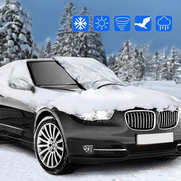 Premium Windshield Snow Cover Sunshade