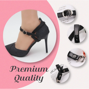 Detachable Heel Ankle Straps