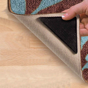Eco-friendly and Reusable Rug Grippers (Set of 4)